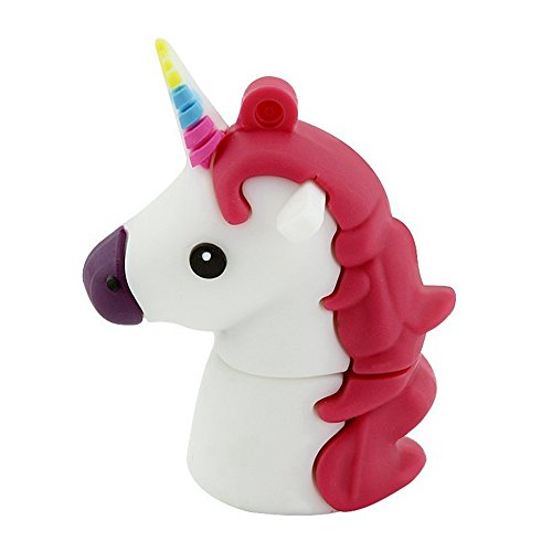 Aneew - Memoria USB de Unicornio con diseño de Caballo de Animal 32 GB