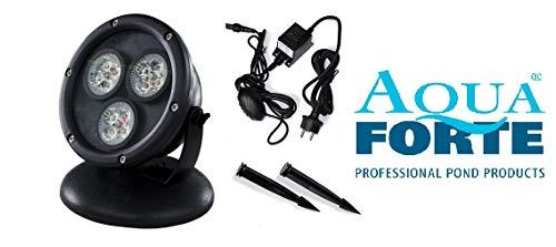 AquaForte HP12-1 Teich und Garten LED Lampen, 1x 12 W, 12-V