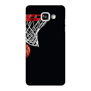Special Basket Ball Multicolor Back Case Cover for Galaxy A5 2016