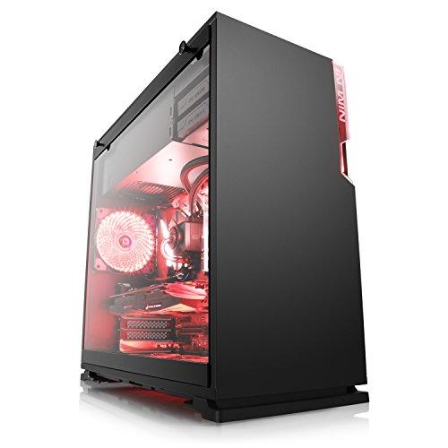 High End Gaming-PC - BoostBoxx Exxtreme 5780 - Intel Core i7-8700K 6x 3700 MHz, 250GB M.2-SSD, 2000GB HDD, 16GB DDR4-RAM, ASUS Mainboard, Wakü, GeForce GTX1070, 7.1 Sound, GigLAN