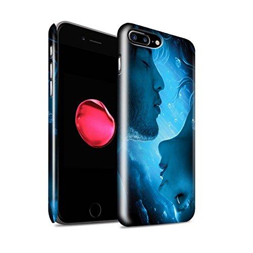 Officiel Elena Dudina Coque / Clipser Brillant Etui pour Apple iPhone 7 Plus / Relation amicale Design / Art Amour Collection Diamants congelés