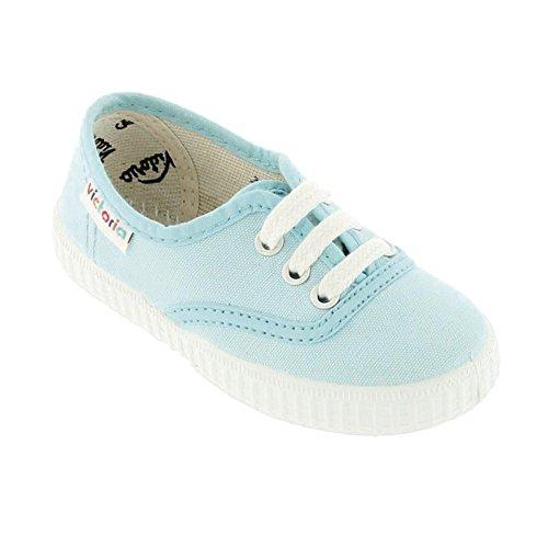 Victoria Inglesa Lona Unisex - Erwachsene Sneaker Himmelblau