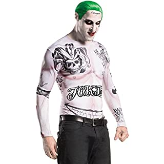 Generique - Joker-Kostüm und Make-up - Suicide Squad M / L
