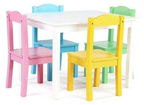 Tot-Tutors-Kids-Table-and-4-Chair-Set-Pastel-Wood
