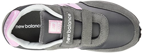 New Balance Ke410kri M Hook and Loop, Baskets Basses Mixte Enfant Gris (Grey)