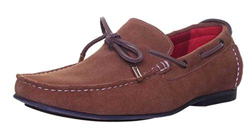 Justin Reece Liam, Chaussures de ville à lacets pour homme Camel