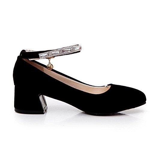 1TO9, Scarpe col tacco donna Black