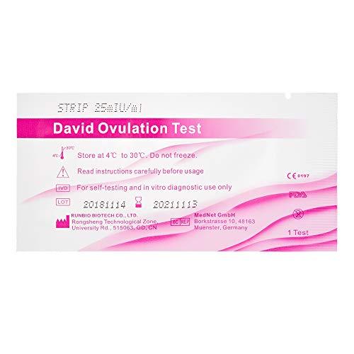 15 x David Ovulationstest Streifen 25 miu/ml LH ovulation test