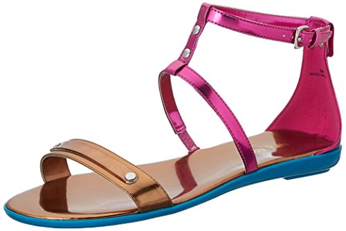 Nine West Getup Synthétique Sandales Gladiateur Pink-Brz