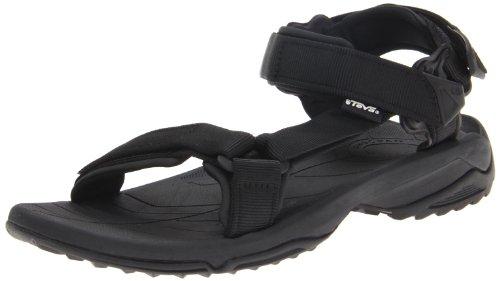 Teva terra fi lite m's sandali sportivi da uomo, nero (schwarz (black 513)), 48.5 eu