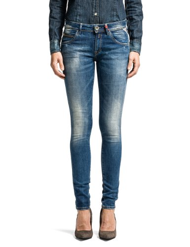 Replay - Jeans, Donna, blu (Blau  (Denim Blue 7)), 46 IT (32W/34L)