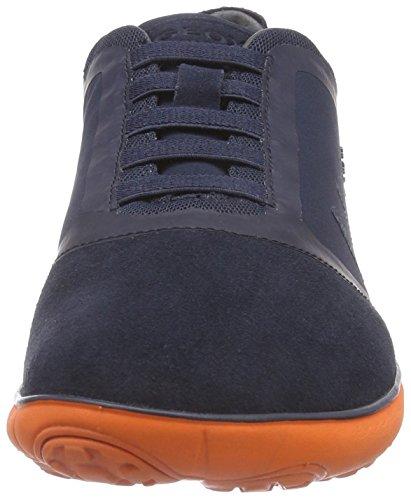 Geox U Nebula B, Sneakers Basses Homme Bleu (C0820)