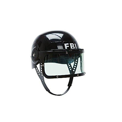 FBI Helm für Kinder Zubehör zum Agenten Kostüm Karneval Fasching