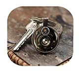 Llavero con forma de cámara fotográfica, ideal para fotógrafos