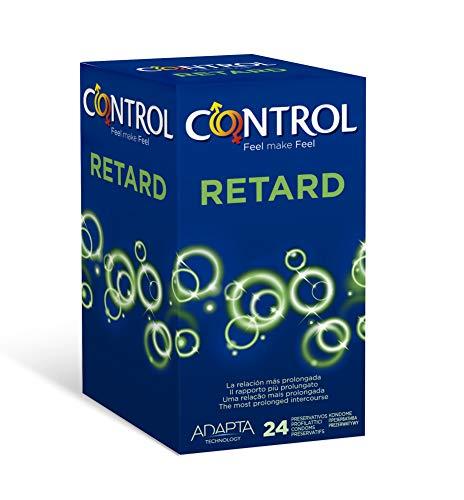 comprar Control Preservativos Retard - Caja de Condones Efecto Retardante, 24 Unidades (Pack Grande)