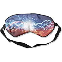 Sleep Eye Mask Lightning Blue Red Lightweight Soft Blindfold Adjustable Head Strap Eyeshade Travel Eyepatch E18 preisvergleich bei billige-tabletten.eu