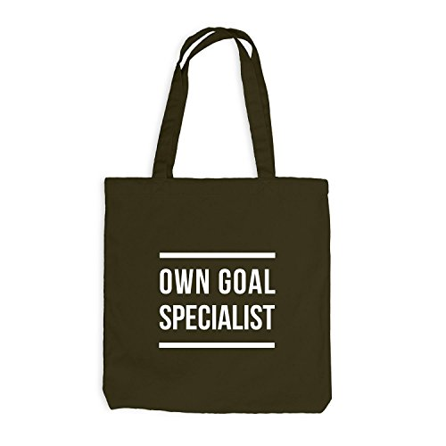 Jutebeutel - Own Goal Specialist - Game Eigentor Olive