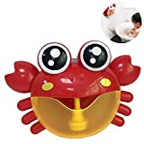 [Verbesserte] Teepao Crab Bath Bubble Maker für Kinder Automatische Musik Bubble Blower Machine mit...