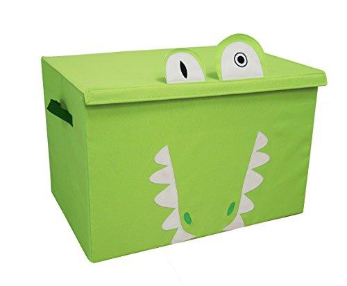 Les Deglingos baúl de almacenaje aligatos la Alligator
