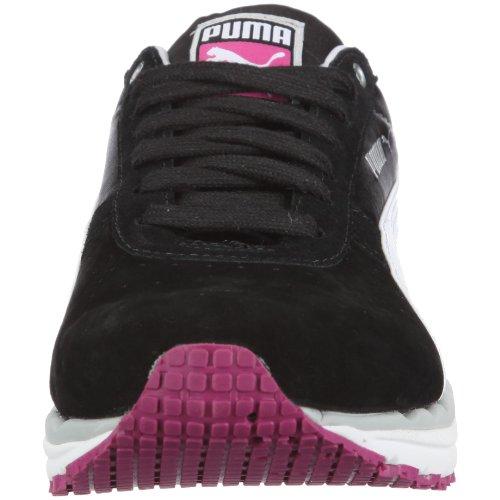 Puma - Bodytrain Ls Nbk Wn's, Sneaker Donna nero (Schwarz/Black-White-Puma Silver)