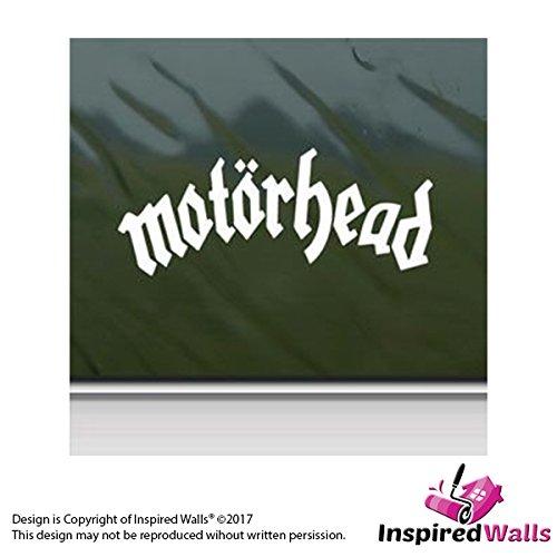 Motorhead Lemmy Metal Rock Band Weiß Auto Fenster Mauer Aufkleber Abziehbild by Inspired Walls®