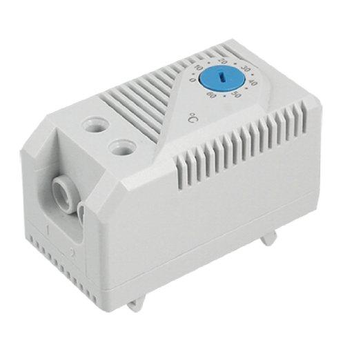 Preisvergleich Produktbild sourcingmap® Kein Filter Lüftersteuerung Regler Mechanischer Raumtemperaturregler