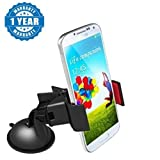 Captcha Universal Car Mobile Holder 360 Degree Rotating For All Android & Iphone Smartphones (Assorted Colour)