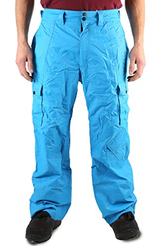 Two Bare Feet Blizzard Herren Snowboardhose S Arctic Blue