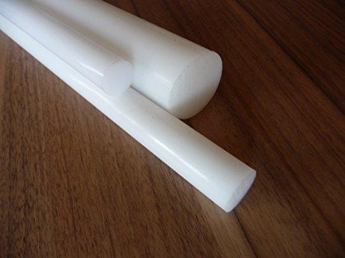 Teflon PTFE Rundstab weiß, Ø 60 mm - 80 mm, Wunschlänge alt-intech® (Ø 80 mm, 200 mm)