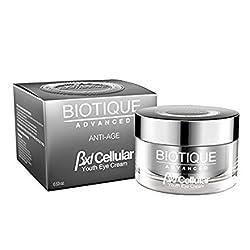 Biotique Almond Youth Eye Cream, 15g