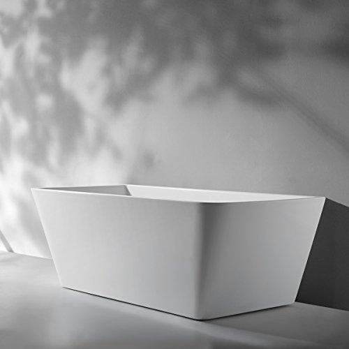 Freistehende Acrylwanne D-8301-160 weiß