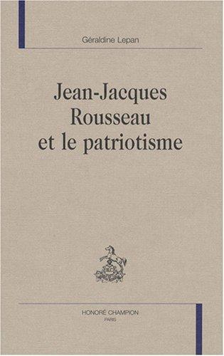 Jean-Jacques Rousseau et le patriotisme