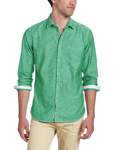 Maglia da uomo diesel sharpy-rs camicia a maniche lunghe (verde, l)