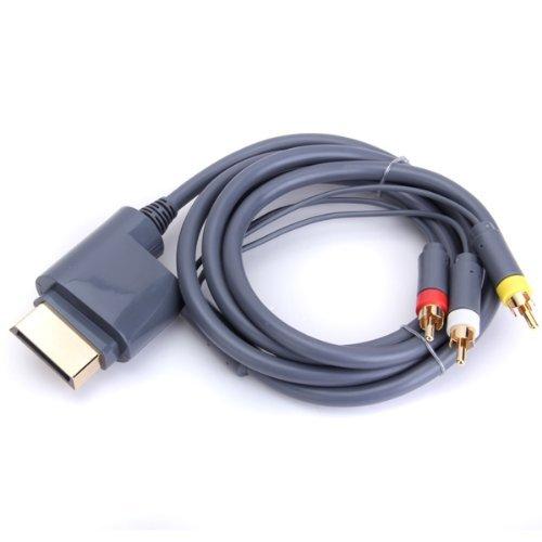 Childhood AV Audio Video Optisches Kabelkabel für Xbox 360 Konsolen Videospiel