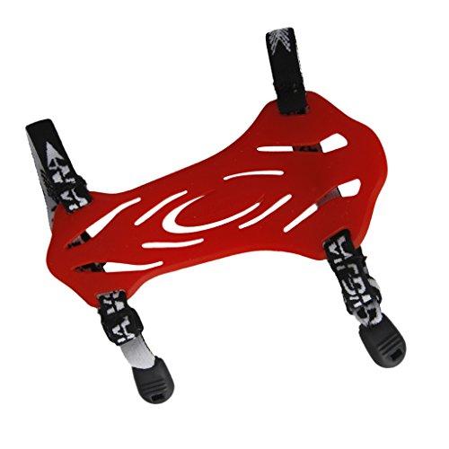 Tiro Con L'arco Protezione Braccio Di Sicurezza Guardia Caccia Con 2 Cinghie - Rosso