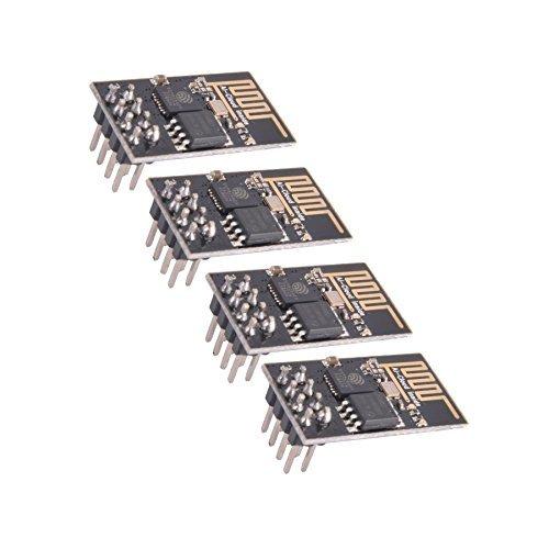 Crazepony-UK 4pcs ESP8266 Esp-01 Serial Wireless Wifi