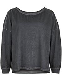 Better Rich Women's Casual Plain Long Sleeve Sweatshirt