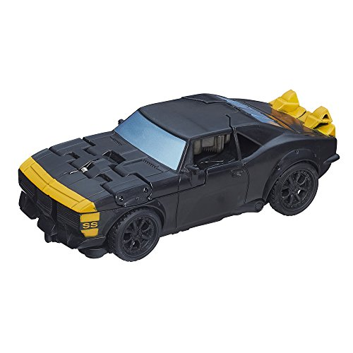 Hasbro A8124 - Transformers - Age of Extinction - 13.5cm Action Figur - High Octane Bumblebee [UK Import] (Transformers Transformation Bumblebee)