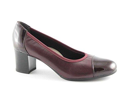 GRUNLAND CIAC SC2315 bordeaux scarpe donna decolletè elasticizzato 40