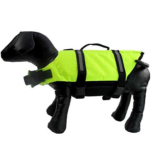ZAMAC Kleine Mittelgroße und Große Safety Dog Hund Training Kleidung Badeanzug - Hund Brust Schwimmweste
