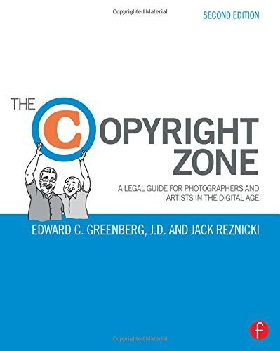 The Copyright Zone: A Legal Guide For Photographers and Artists In The Digital Age by Greenberg, Edward C., Reznicki, Jack (2015) Paperback
