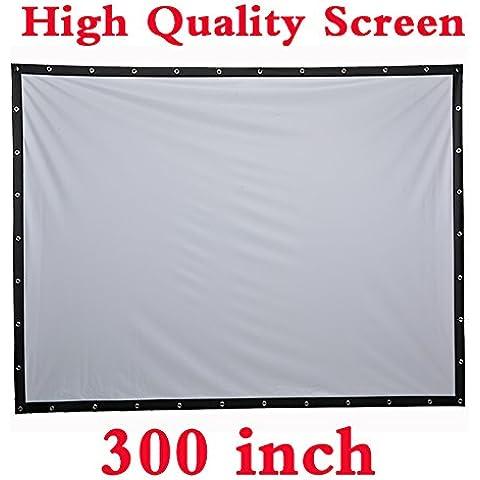 Talla Grande 300 Inch Pantalla 16:9 660x370 cm para Proyectores