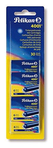 Pelikan 330845 Patronen 5er Packung, Blau