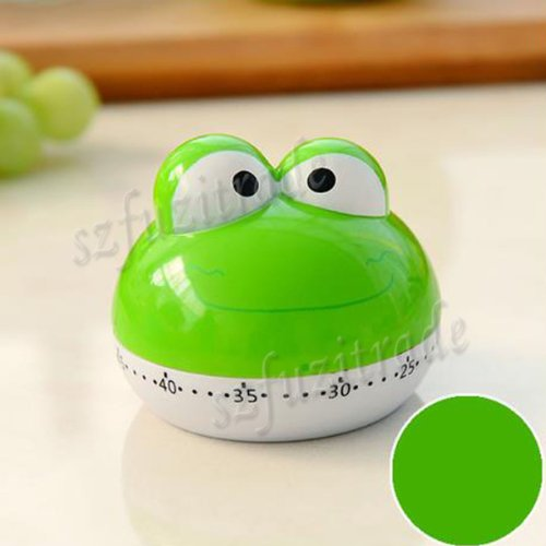 New Design Cute Lovely Frog 55 Mins Animal Kitchen Timer Countdown Timer for Kithen Kids - Multi...
