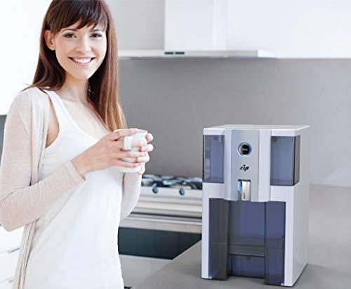 Puricom Europe Zip (Zero Installation Purifier) - Tragbare Arbeitsplatte Umkehrosmose, Wasser Filter, mit alkalischem Wasser, weiß -