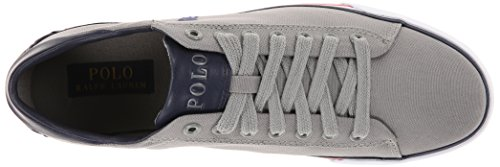 Ralph Lauren Mens Harvey Textile Trainers Gris