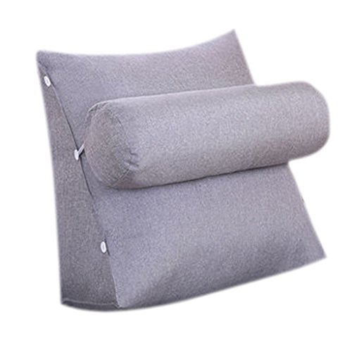 YMXLJFMode Kissen Dreieckige Nachtschutz Taille große Kissen Büro Wohnzimmer zurück Kissen Bett Kissen Sofa Soft Box Kissen Kissen (Farbe : B) -