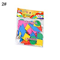 Dyyicun12 Kids Learning Toys, Wooden Colorful Round Geometric Chips Math Teaching Aids Educational Kids Christmas Birthday Gift Toys