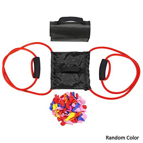 Wasserballonwerfer mit 111 Luftballons, 3-Mann-Schleuder-Wasserbombe, Katapult-Schleuder, Wasserwerfer, Jungen-Wasserspielzeug, Hofspielzeug, Spielzeug für Mädchen und Kinder