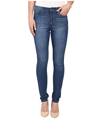 Liverpool Jeans Company Damen Anthem Curvy Kontour 4-Wege Stretch Denim Hugger Abby Skinny Jeans - Blau - 34 Hugger Fit Denim